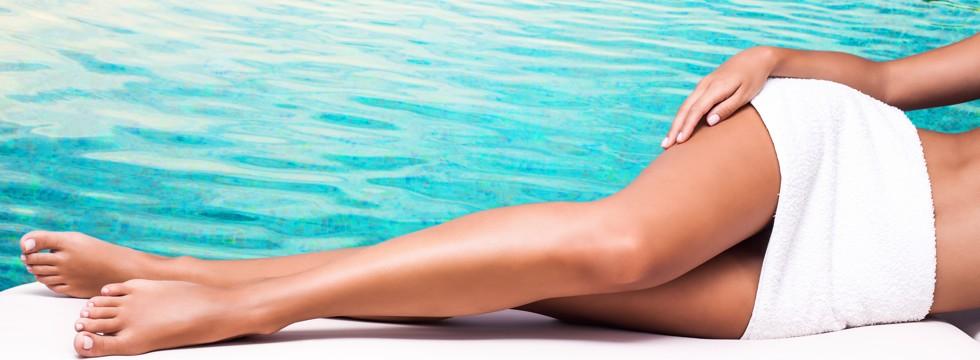 Agua termal y piel