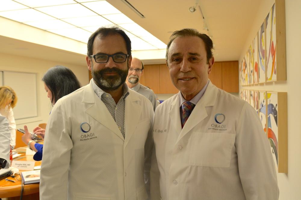 Dr. Josep González Castro y Dr. Zein Obagi