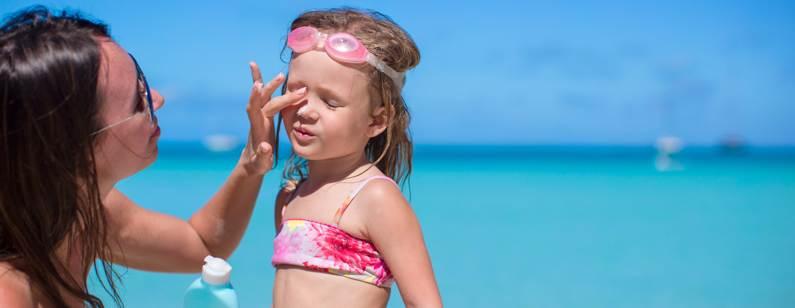 Protege a tus hijos del sol