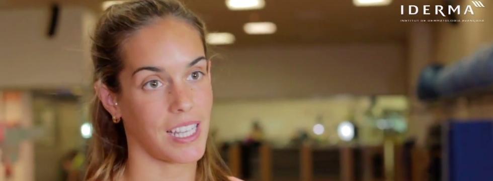 Ona Carbonell y la protección solar en el deporte