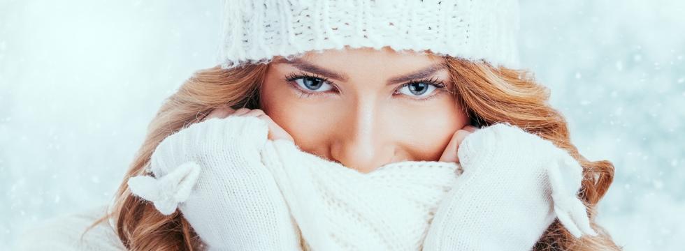 Frío y piel sensible